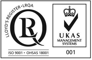 ISO9001,OHSAS 18001 with UKAS
